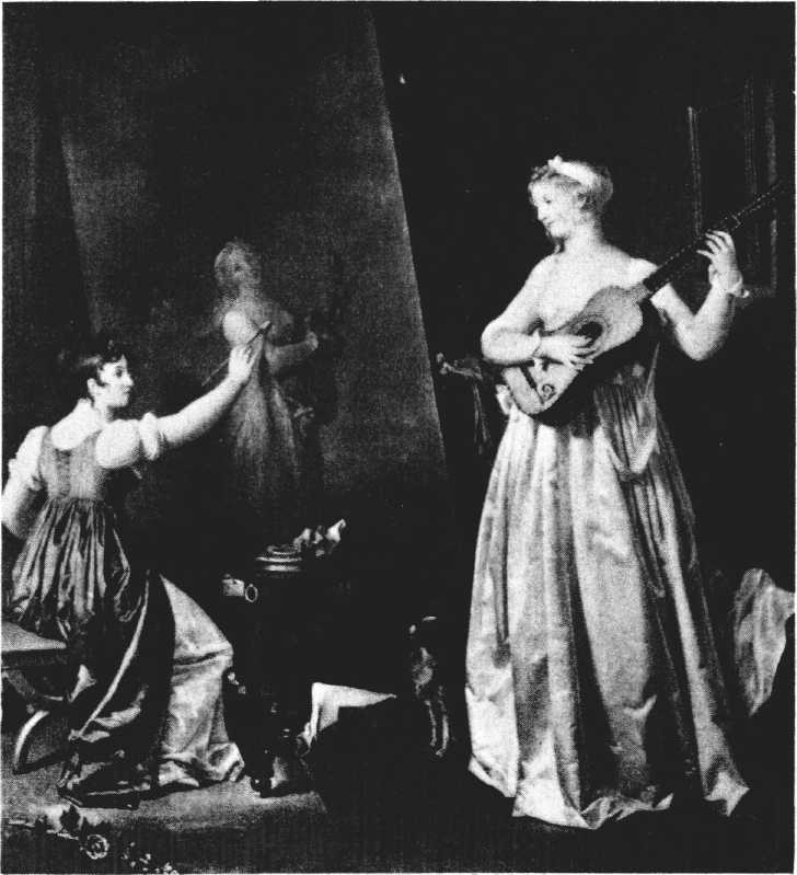 Marguerite Gerard, Fragonard's sister-in-law, was trained as an engraver, but turned to