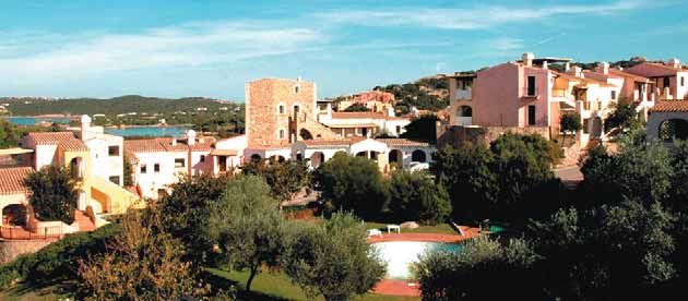 Location Prestigious Resort Gli Oleandri si situated a few minutes from Porto Cervo, undisputed pearl and