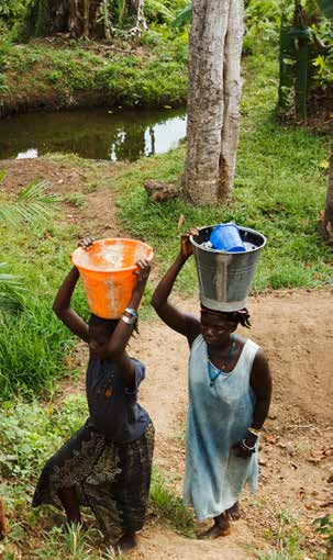 44 The Millennium Development Goals Report 2014 In 2012, the proportion of the world s population with access to an improved drinking water source was 89 per cent, up from 76 per cent in 1990.
