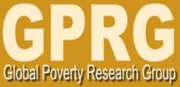 Global Poverty Research Group Website: http://www.gprg.