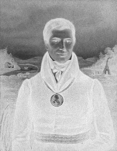 22 Truth & Reconciliation Commission Kahkewaquonaby (Sacred Feathers), also known as Peter Jones, in 1832.