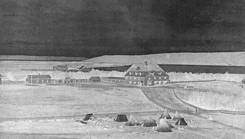 28 Truth & Reconciliation Commission The Qu Appelle school at Lebret in what is now Saskatchewan opened in 1884. O.B. Buell, Library and Archives Canada, PA-182246.