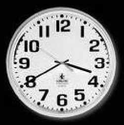 ) To tell the time you can use a digital clock or a face clock.
