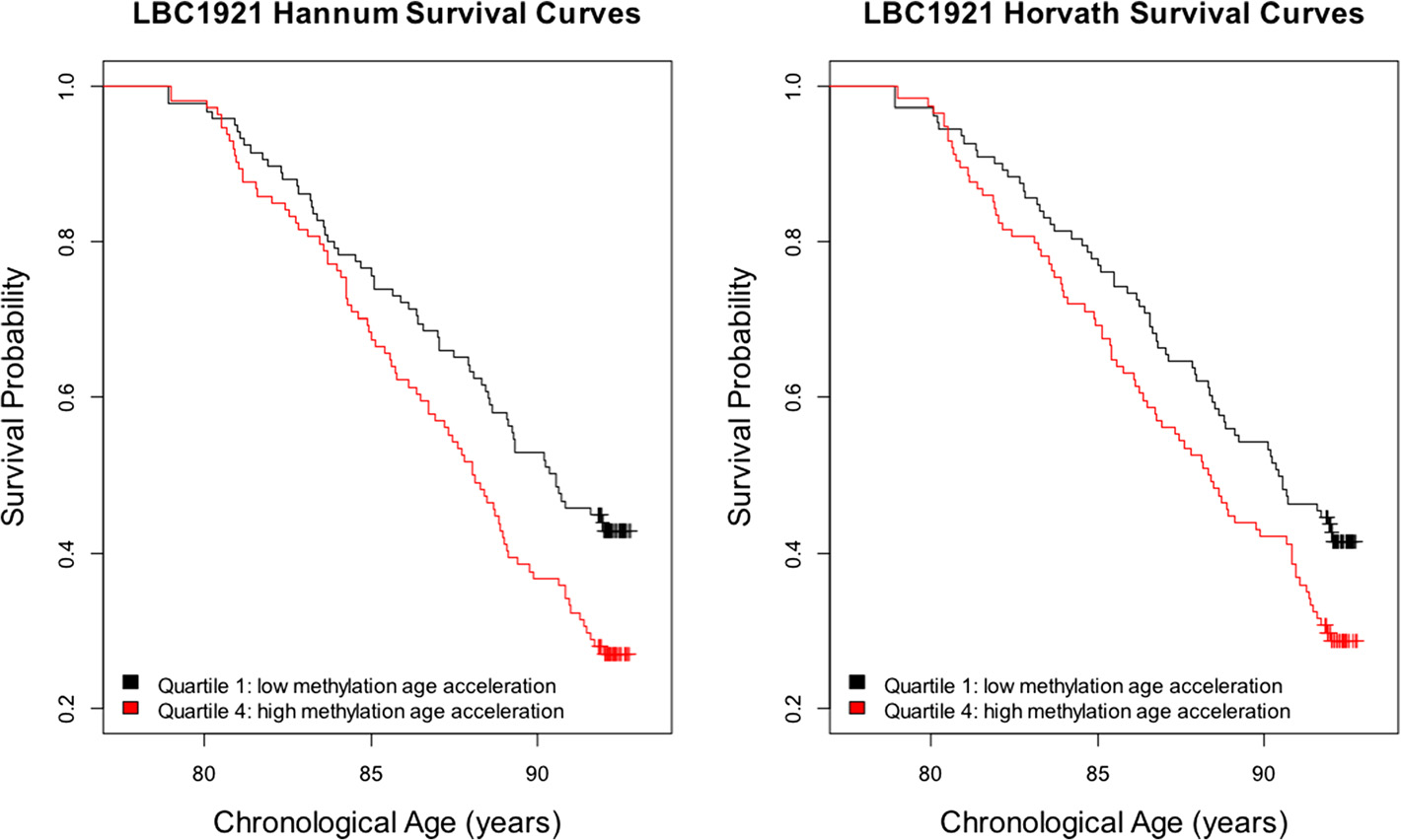 Marioni et al. Genome Biology (2015) 16:25 Page 5 of 12 Figure 2 Meta-analysis results of Δ age versus mortality.