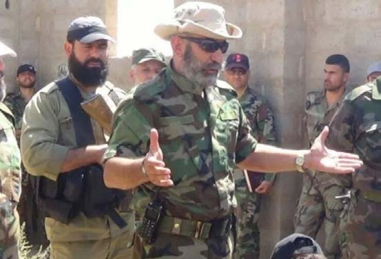 MIDDLE EAST SECURITY REPORT 26 AN ARMY IN ALL CORNERS CHRISTOPHER KOZAK APRIL 2015 Brigadier General Issam Zahreddine with soldiers from the SAA 104th Republican Guard Brigade in Deir ez-zour.