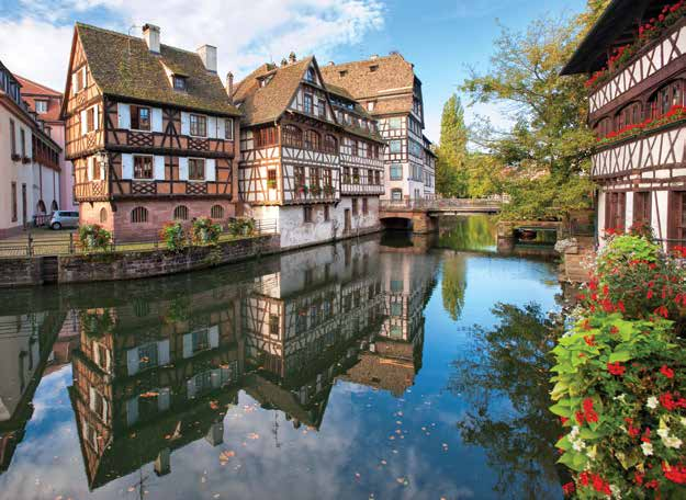 Rhine cruises Strasbourg Romance on the Rhine 5 nights a-rosa viva season s oct 17*, 22, 27 5 nights a-rosa flora season s apr 7 oct 25 1 Cologne, Germany - 8:30pm 2 Koblenz, Germany 6:00am noon