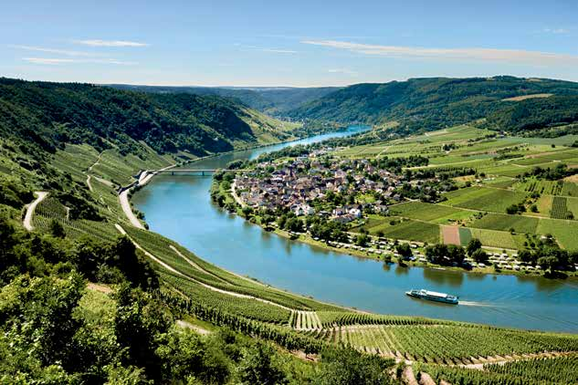 Rhine, Moselle and Main cruises River Moselle The Main and Moselle rivers flow through some of the most picturesque scenery of Europe and some of the best wine growing regions in Germany.