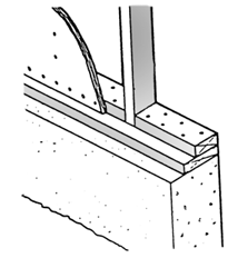 Inspect the vertical studs that extend from the foundation to the first floor of your home. These are the cripple walls.