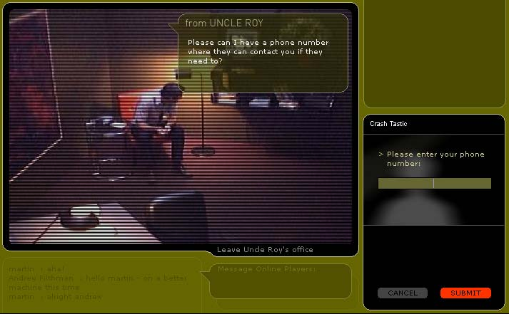 Online players find photo objects as they explore the model.