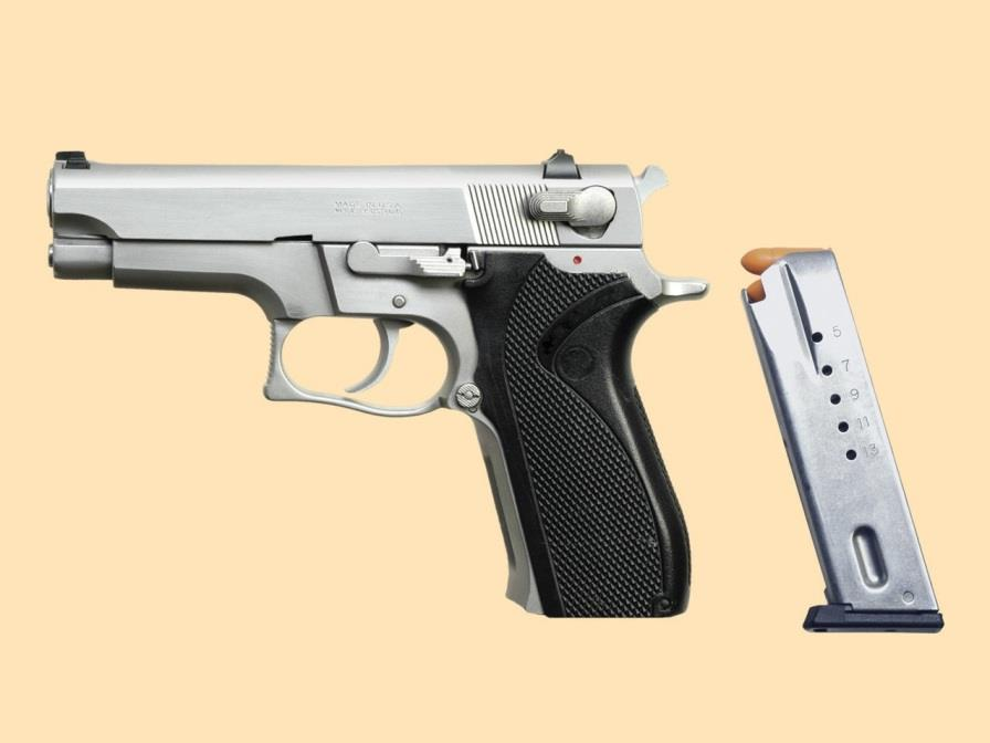 SEMIAUTOMATIC PISTOL PARTS AND OPERATION How a Semiautomatic Pistol Works A semiautomatic pistol has a single chamber.
