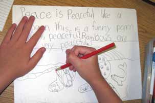 Lesson 1 Assessment Note student written and oral responses concerning The qualities associated with intrapersonal peace. Similarities and differences in perceptions of peace or peacefulness.