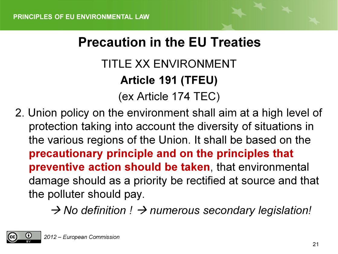 Slide 21 EU Law,