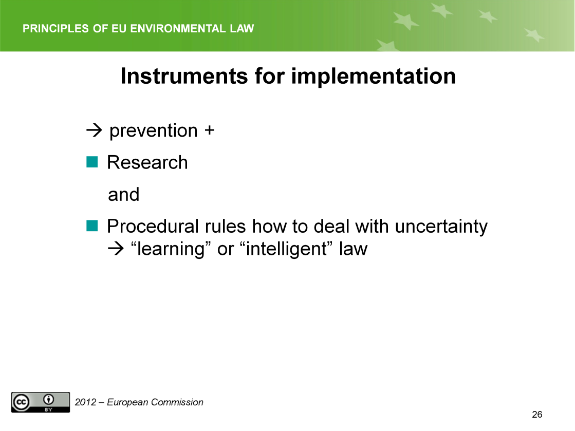 Slide 26 Instrument prevention.