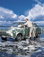 Vehicle Washing Car washing is a common routine for residents and a popular way for organizations, such as scout troops, schools, and sports teams to raise funds.