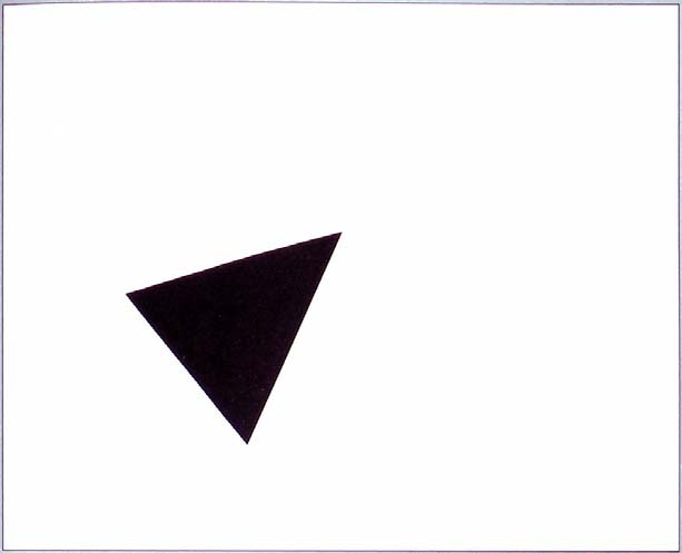 The same triangle placed on a