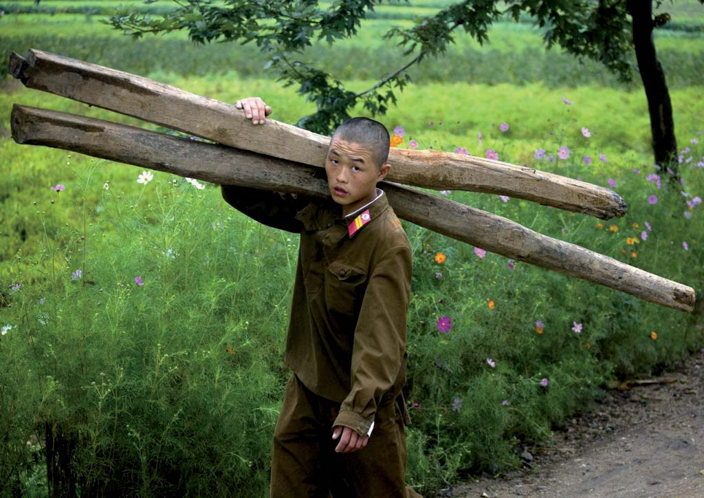 North Korean army is said to be one of the most important in the world.