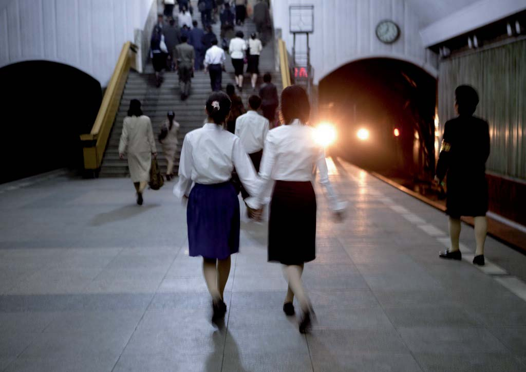 Pyongyang s subway system is the deepest in the world as it doubles as a bomb shelter.