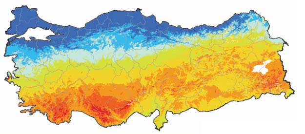 17 C - Solar power Rooftops shine as bright as 5-stars in GDP contribution According to the solar energy potential atlas of Turkey, an area of 4,600 km 2 is feasible for investment in solar