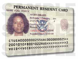 status  status A number Date you became a Permanent Resident