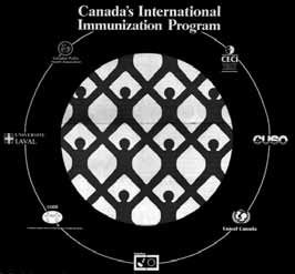 The theme of Canada s International Immunization Program was A Miracle in the Making. The Canadian International Development Agency chose CPHA to implement the program.