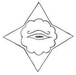 "p. 72 BOOK II OTHER TONGUES ISHTAL--MAXIN In the Solex-Mal, this is the symbol for the ""All-Seeing Eye,"" the ""Light of Creation,"" the four-pointed star stands for the Four Great Primary Forces of"