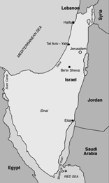 In the map below you can see the territory Israel gained in the war. The borders after the war brought a sense of security that the country had never known.