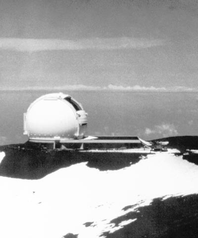 x TOPS: Toward Other Planetary Systems A view of the 10-meter-diameter Keck Telescope in Hawaii, at the summit of