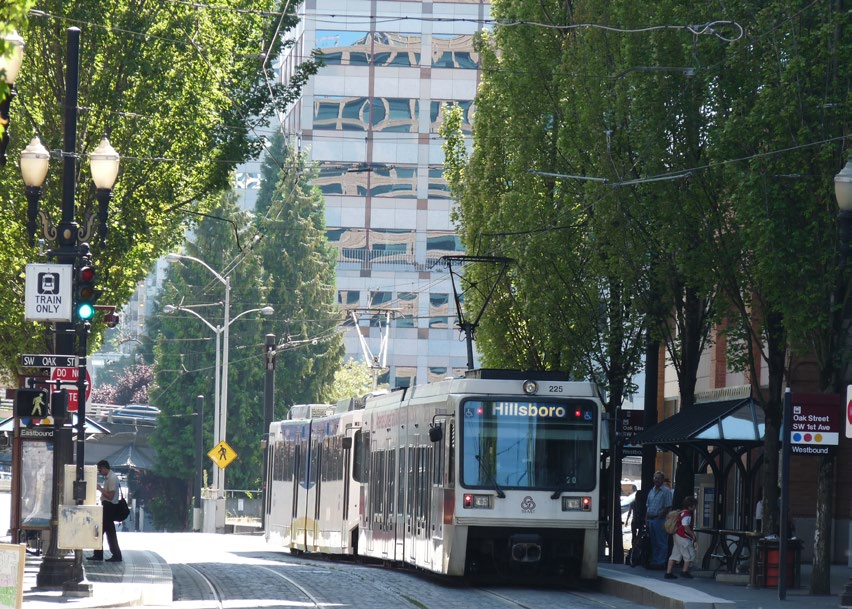 Portland s MAX Blue Line LRT is 33 miles long and has leveraged $6.6 billion in TOD investment.