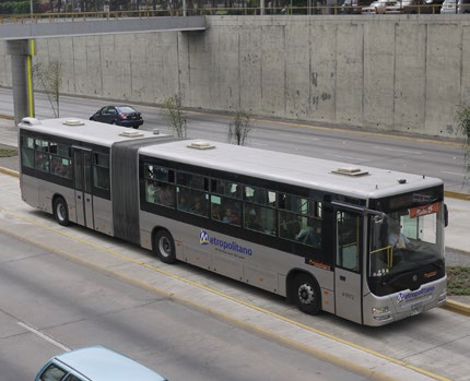 left Lima s bus fleet is made up of new CNG buses when the BRT was introduced.