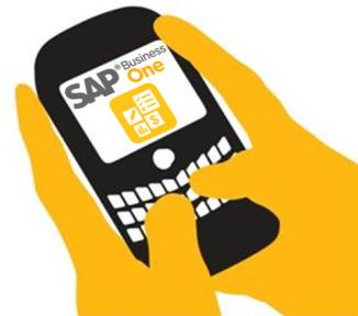 SAP Business One Mobility - Technology background Mobile capabilities based on the integration framework of SAP Business One Connecting mobile apps with SAP Business One, available as of version 8.