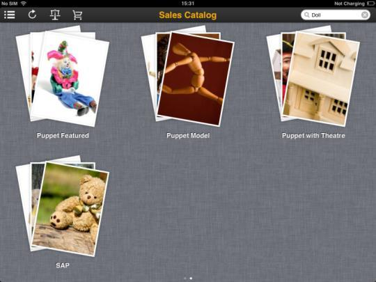Key features Sales Catalog