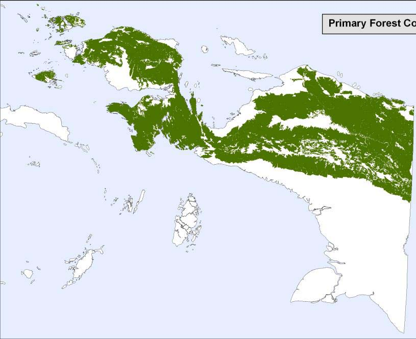 4 Papua Primary Forest 2009: a comparison between Ministry