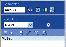 Chapter 2 Basic Functions Working with Portfolios The Portfolio Manager in the side navigation window provides the necessary tools to work with portfolios.