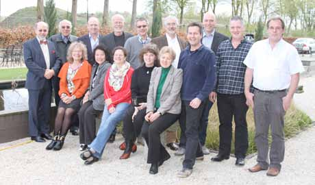 IMA Executive Committee Meeting In mid-april 2012, The Netherlands again turned into an international centre for mycology and the IMA Executive Committee met on 14 April 2012 in Utrecht parallel to
