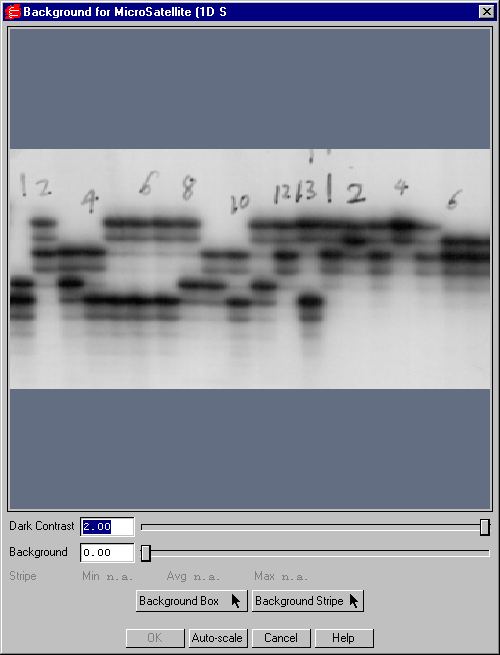 Viewing and Editing Images Fig. 12-18. Subtract Background dialog box.