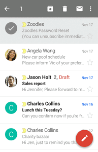 Manage Gmail Messages Your phone gives you control over how you manage your Gmail messages with labels, thread management, search capabilities, adding multiple Google Accounts, and more.