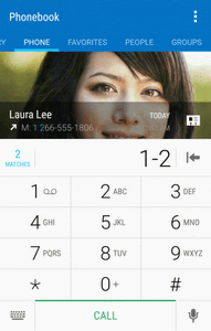 Call Using the Phone Dialer The most traditional way to place a call is by using the phone s dialer screen.