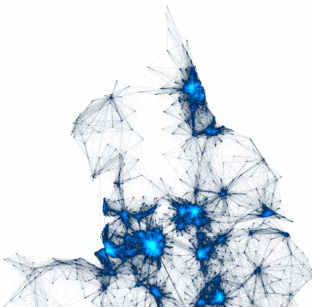 16 The Northern Powerhouse: One Agenda, One Economy, One North Commuting Patterns in the North: commuter flows between the city regions are limited Source: Alasdair Rae, Sheffield University This new