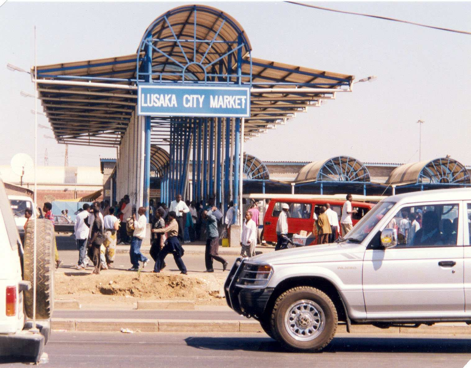 new market at Soweto.