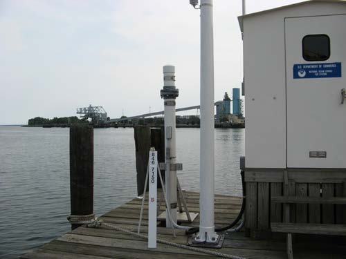 INTRODUCTION TO STORM SURGE 5 Tide Stations Tide stations measure the variation in water level along the coast.