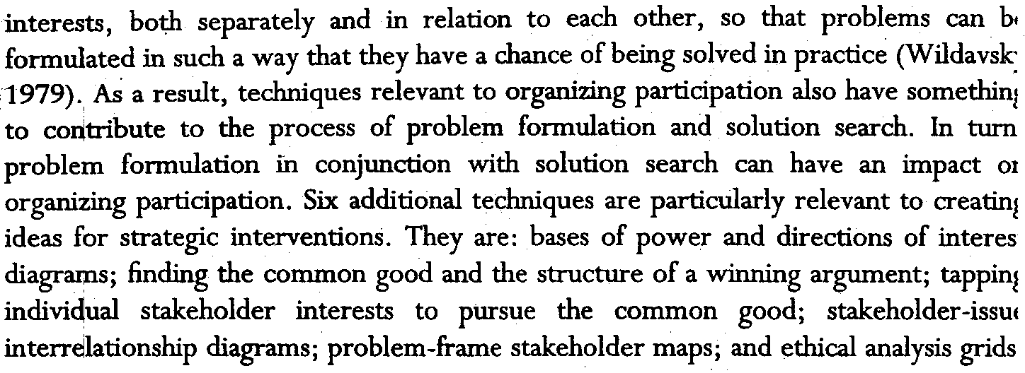 34 Public Management Review interests, bo1;h separately and in relation to each other, so that problems can bl formulated in such a way that they have a chance of being solved in practice
