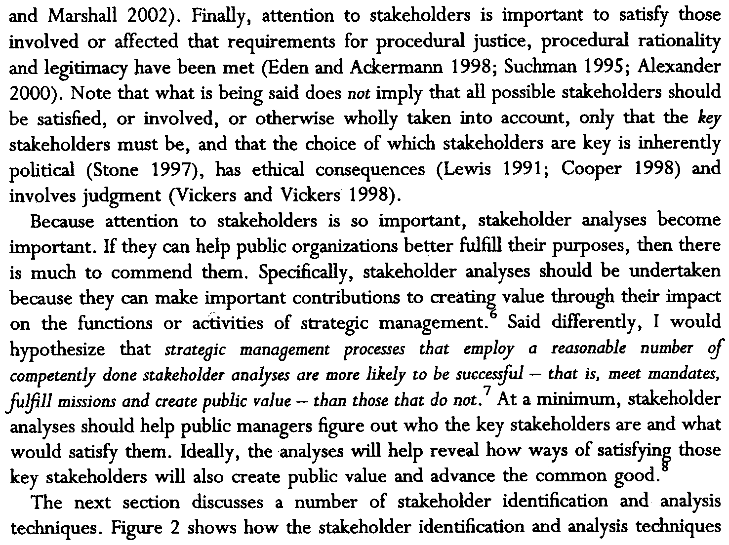 26 Public Management Review and Marshall 2002).