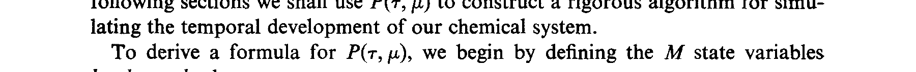 chemical kinetics, or at least it has not been utilized in the systematic way we shall propose