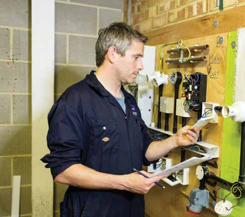 Construction & Electrical Installation Workshops Build a better future for yourself in our spacious and fully equipped industry-standard construction and electrical workshops.