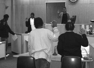 Case Study 10: Preventing the criminalisation of young black males in the Time Dollar Youth Court in Washington DC.