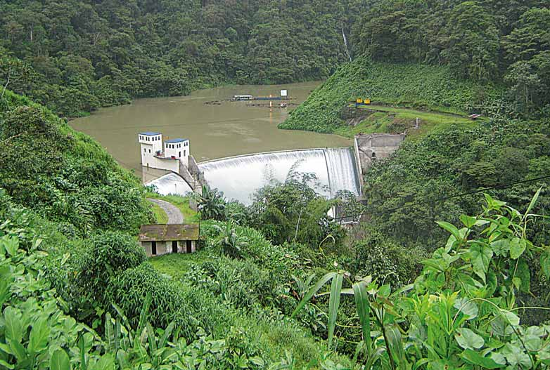 10 HYDRONEWS Markets Ten years ANDRITZ HYDRO in Colombia Dam and upper reservoir of Bajo Anchicaya power plant ANDRITZ HYDRO Colombia was founded in Bogotá, Colombia in September 2001.