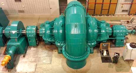 32 HYDRONEWS Highlights Germany Erzhausen Rehabilitation of one hydropower unit of the Erzhausen pumped storage plant.