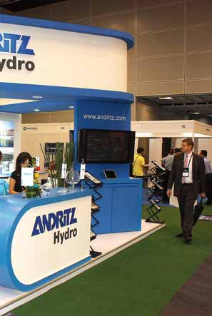 It was a good opportunity to present ANDRITZ HYDRO as one of the leading suppliers of hydropower equipment in South- East Asia, especially in Malaysia. Jens Päutz Phone: +43 (1) 89100 2675 jens.