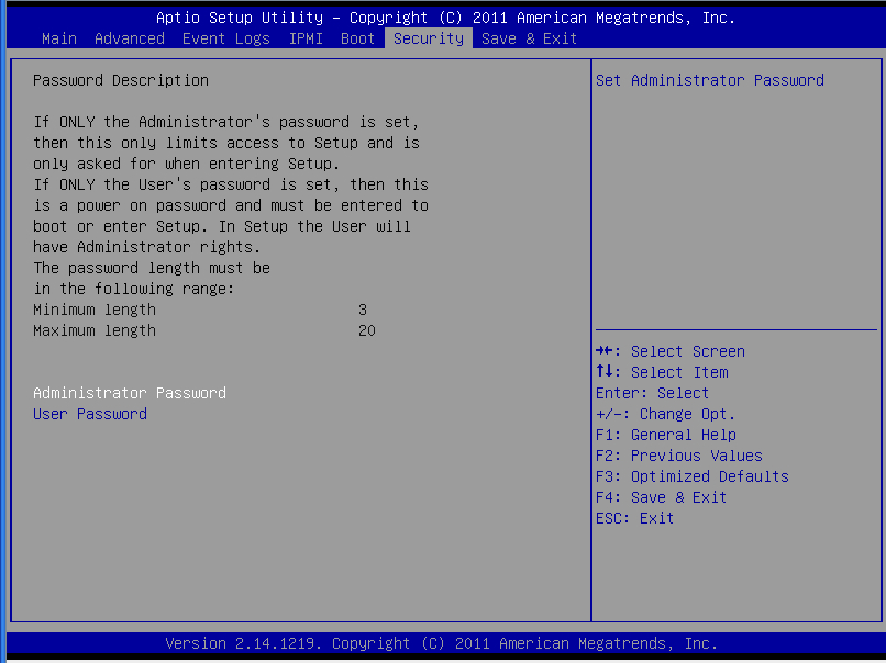 Chapter 4: AMI BIOS 4-8 Save & Exit This submenu allows the user to configure the Save and Exit settings for the system.
