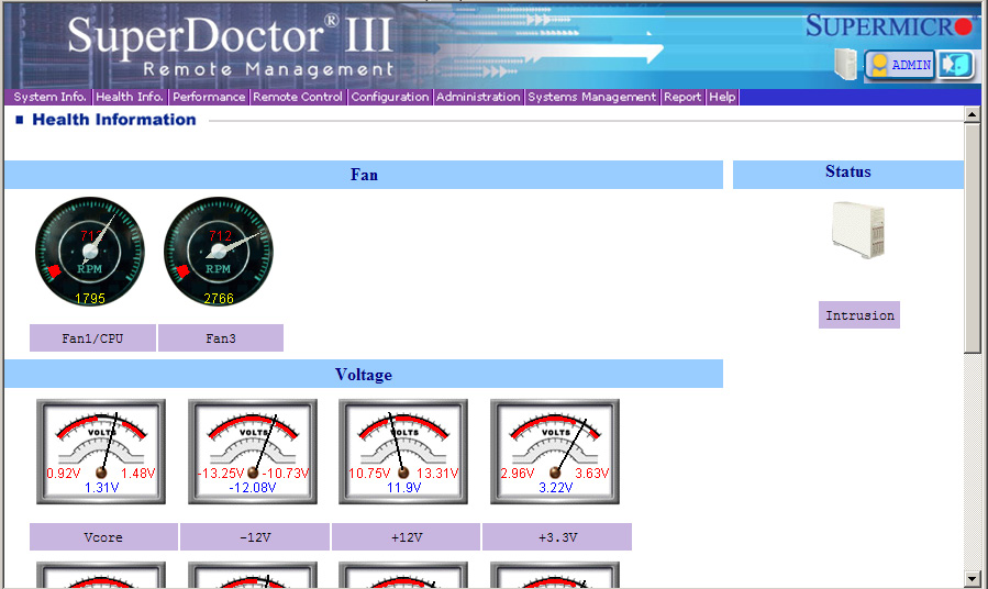 Appendix B: Software Installation Instructions SuperDoctor III Interface Display Screen-II (Remote Control) The SDIII utility and the user guide can be downloaded